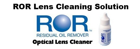 ROR Redidual Oil remover Lens Cleaner and Vortex Lenspen